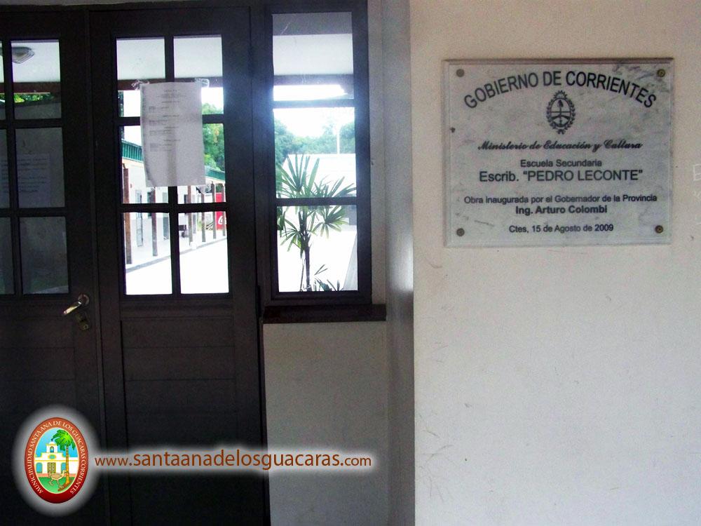 Escuela Secundaria Escribano Pedro Leconte