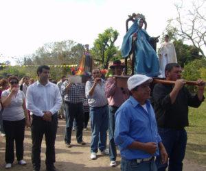 Procesión de San Joaquín junto a comunidades vecinas