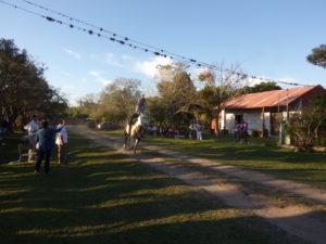 Carrera de sortija, tradicional juego gaucho que se conserva y promociona en Santa Ana