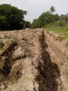 Extensión del servicio de agua potable, con mano de obra a cargo del Municpio