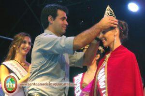 Caterina Araceli Romero coronada Reina del Segundo Festival del Mango