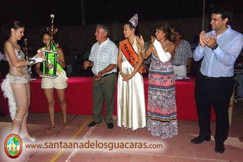 Sabrina González, flamante Reina de los Carnavales de Santa Ana de los Guácaras