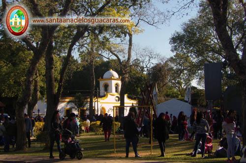 Santa Ana en su Fiesta Patronal